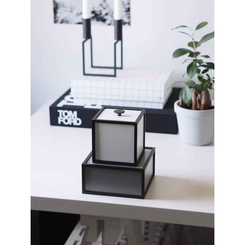 Frame 14cm 小物入れ ダークグレー by Lassen 北欧 デンマーク