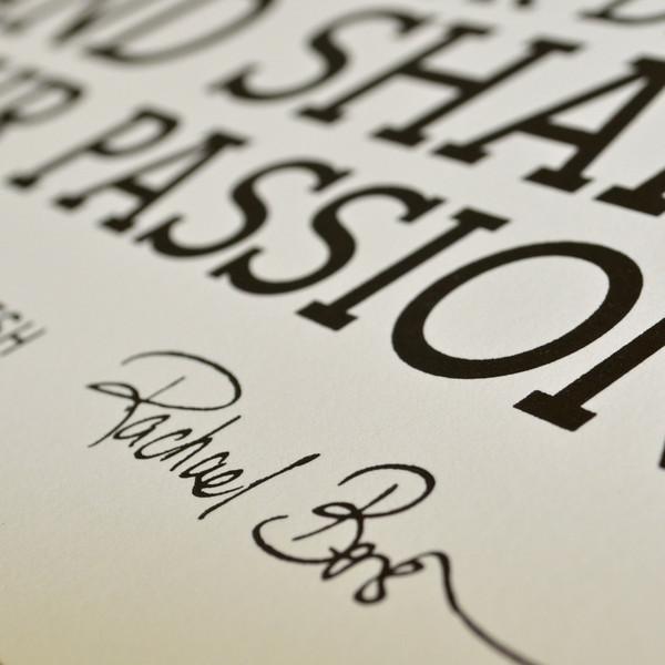 HOLSTEE マニフェスト アートポスター 男前フレーム付き ホワイト A3変形 ホルスティー NY ブルックリン