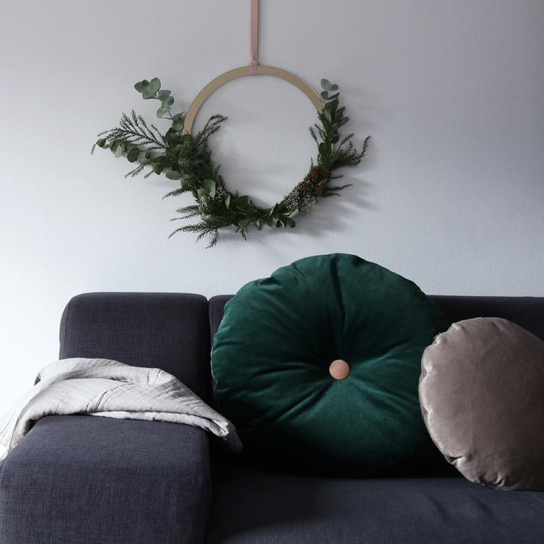 Cooee Design ブラス リース 40cm 北欧 スウェーデン
