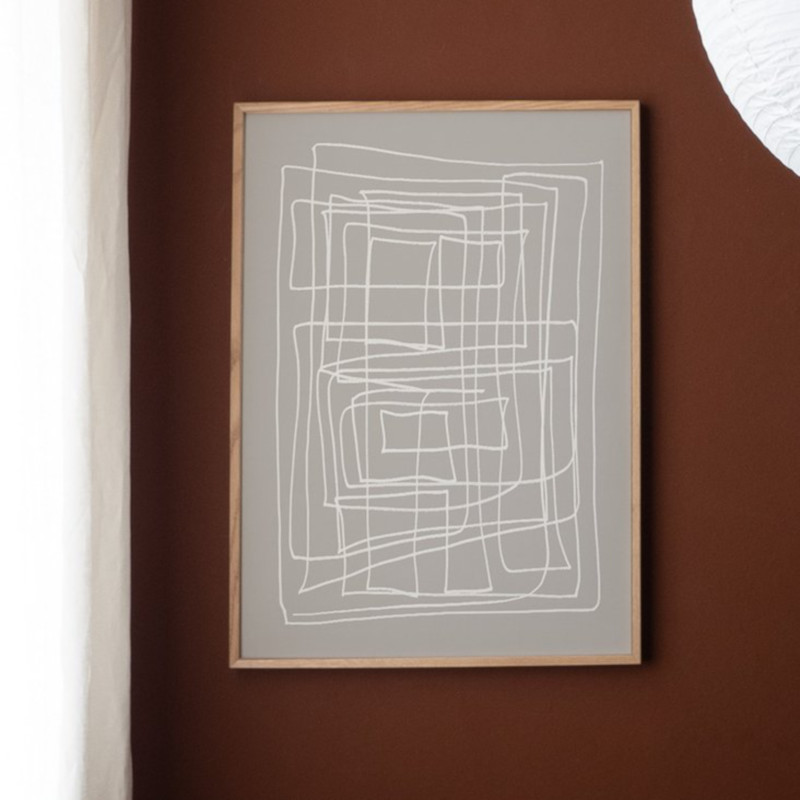 ATELIER CPH DECONSTRUCTED [no.43] 50x70cm アートプリントポスター 北欧 デンマーク