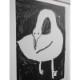 Fine Little Day 白鳥 ポスター 40x50cm ファインリトルデイ 北欧 スウェーデン