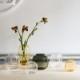 HOLMEGAARD 花瓶 PRIMULA オーバル ガラス ベース スモーク H17.5cm 楕円形 プリムラ ホルムガード 北欧 デンマーク