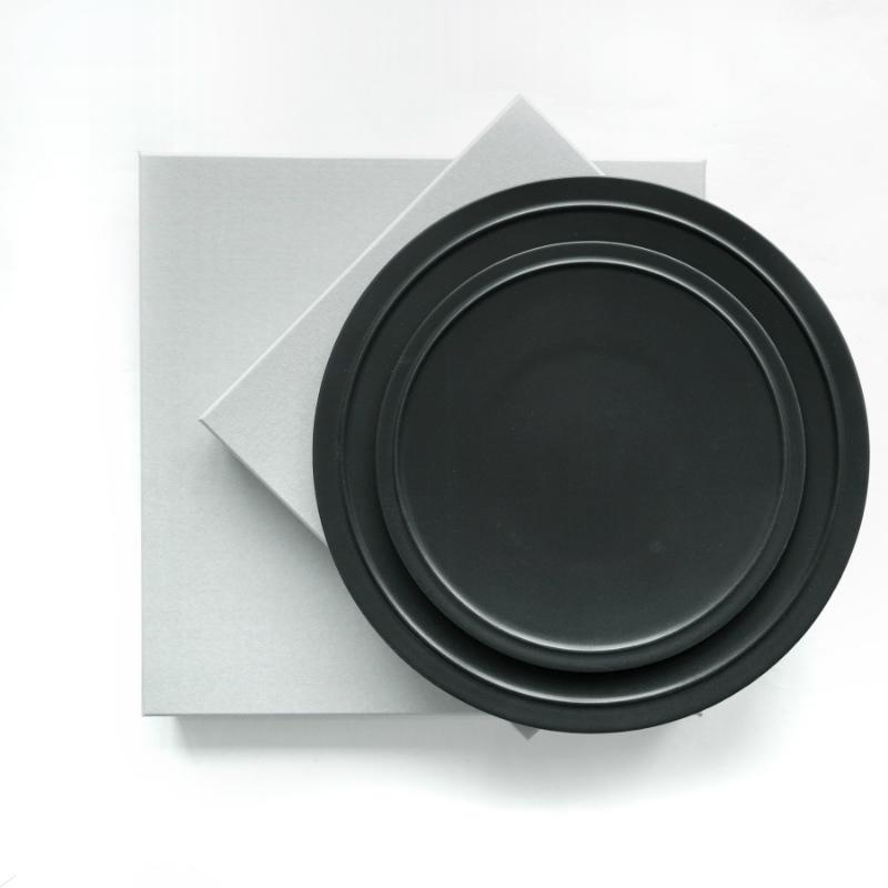 GENERAL SUPPLY プレート L ブラック 日本製(美濃焼)