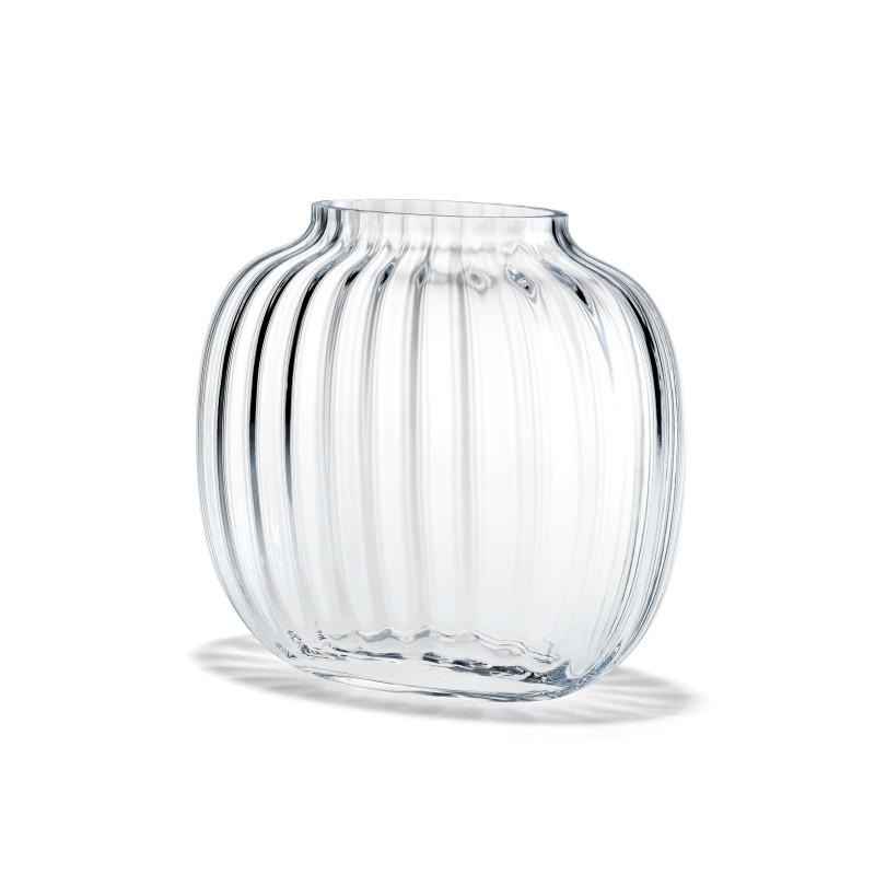 HOLMEGAARD 花瓶 PRIMULA オーバル ガラス ベース クリア H12.5cm 楕円形 プリムラ ホルムガード 北欧 デンマーク
