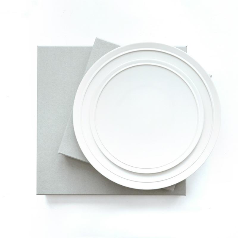 GENERAL SUPPLY プレート L ホワイト 日本製(美濃焼)