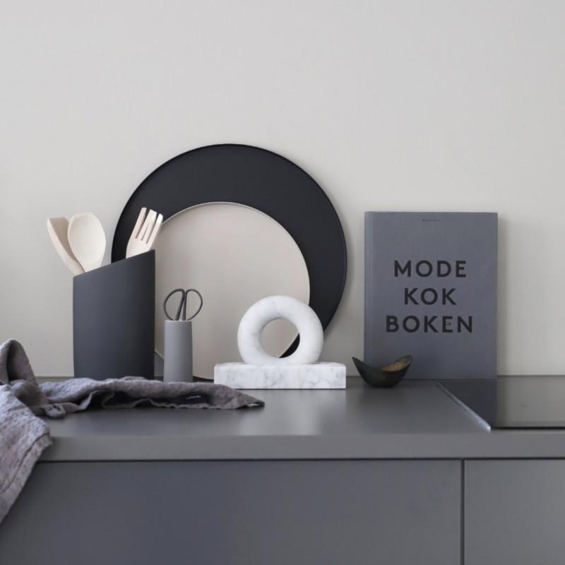Cooee Design 丸トレー 40cm ブラック 北欧 スウェーデン