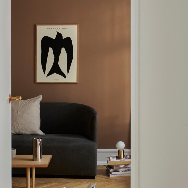 THE POSTER CLUB MURMURATIONS SORT SOL 30x40cm アートポスター 北欧 デンマーク