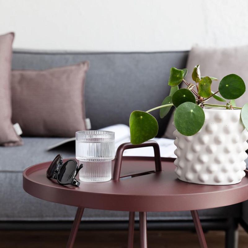 DBKD Cloudy 植木鉢カバー 18cm ホワイト 北欧 スウェーデン