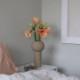 Cooee Design ピラー フラワーベース 32cm サンド 花瓶 北欧 スウェーデン