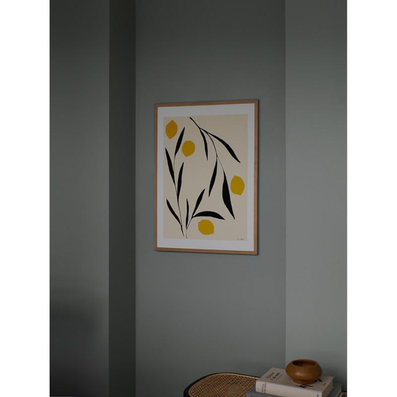 THE POSTER CLUB レモン 30x40cm アートポスター 北欧 デンマーク