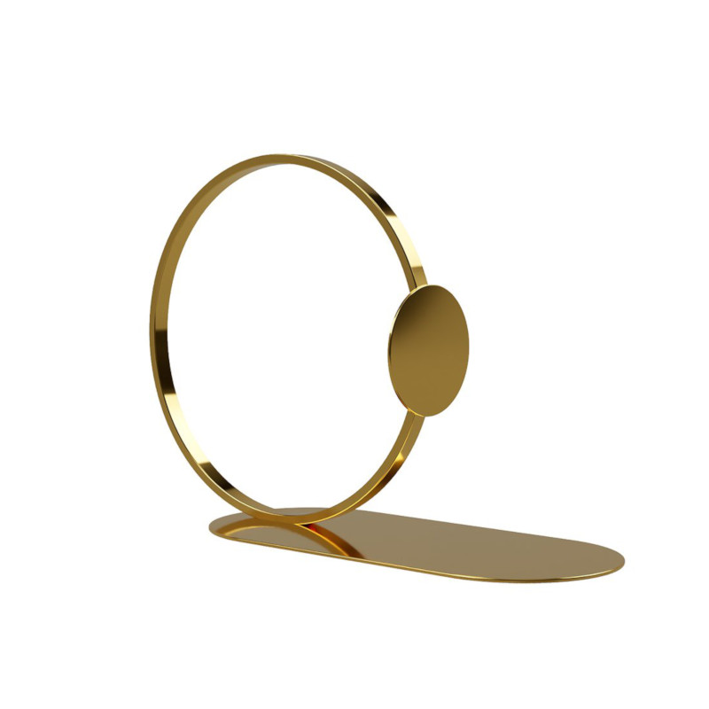 Cooee Design ブックリング 10cm ブラス ブックリング 本立て 北欧 スウェーデン