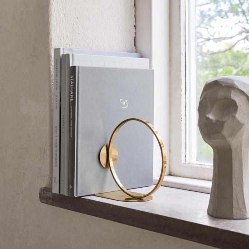 Cooee Design ブックリング 15cm ブラス ブックエンド 本立て 北欧 スウェーデン