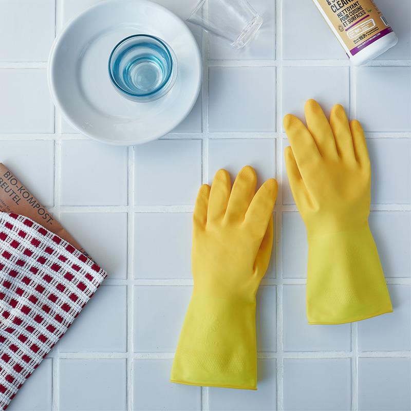 マリーゴールド MARIGOLD GLOVE キッチン用 グローブ S/Mサイズ ゴム手袋 / にくらす with HOME