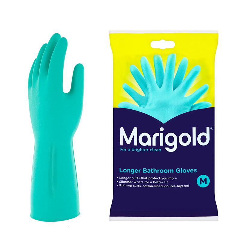 マリーゴールド MARIGOLD GLOVE バス トイレ・水仕事全般用 グローブ Mサイズ ゴム手袋 / にくらす with HOME