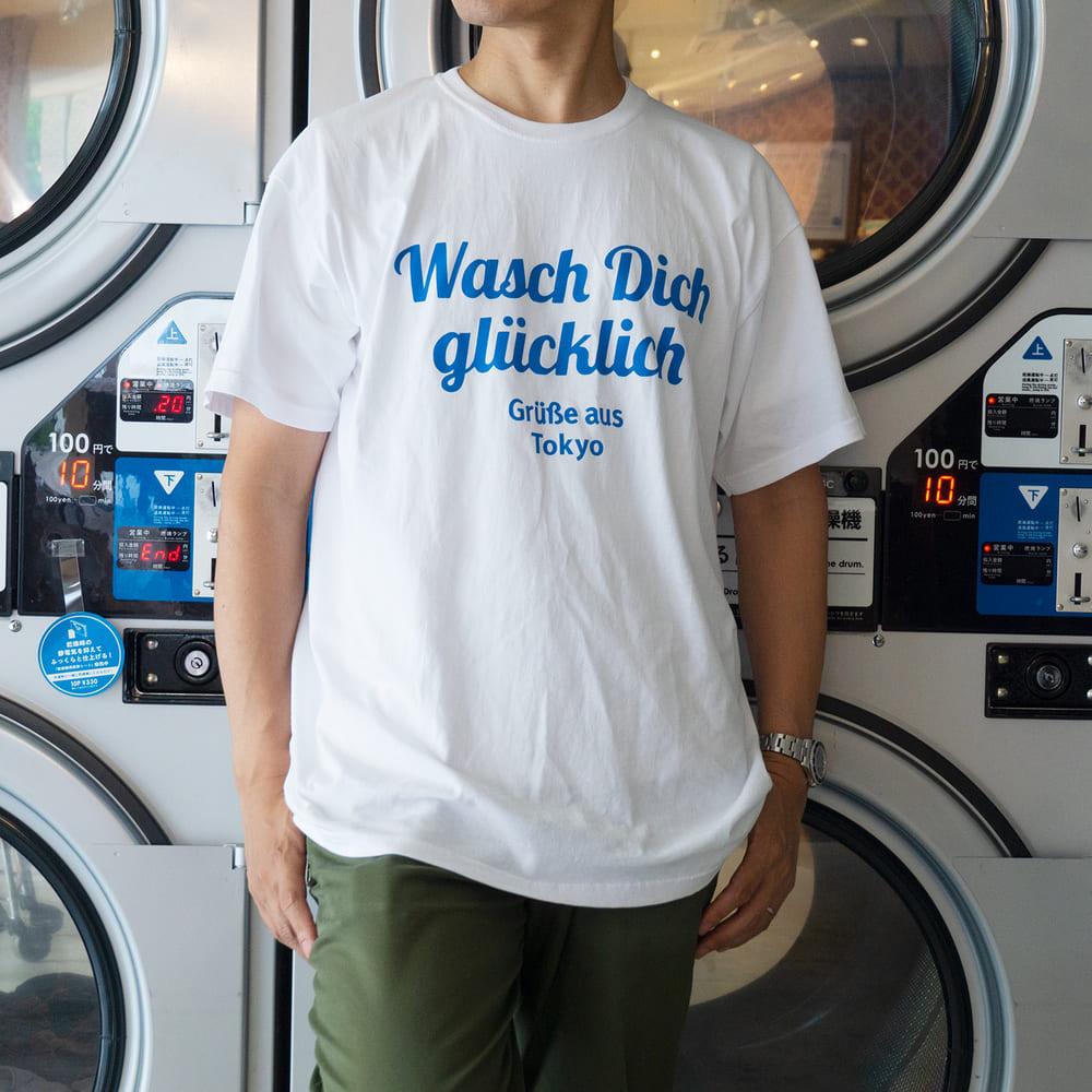 【フローマルクト】FTL Tシャツ L / フレディ レック・ウォッシュサロン
