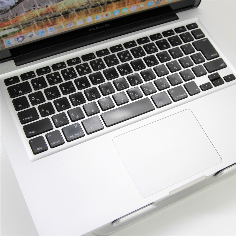 【並品】Apple MacBookPro8,1(Late 2011) macOS Catalina 10.15.3 Mobile Core i5 2435M (2.4GHz/DualCore/3MB) メモリ 4GB (2GB×2) 500GB HDD 13.3インチ