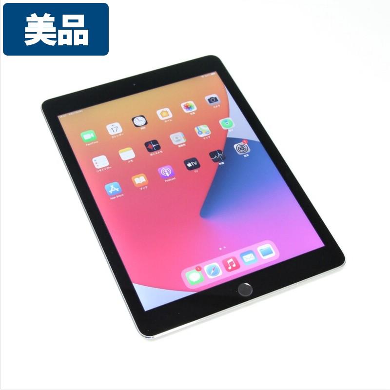 【美品】Apple iPad Air2  Wifi 16GB A1566 スペースグレー