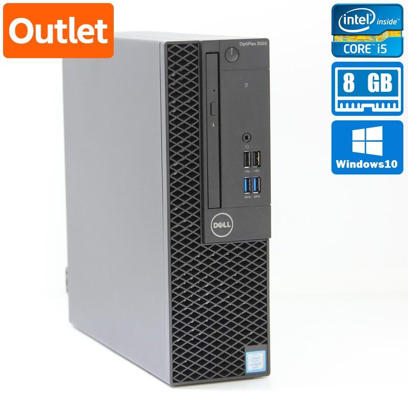 【Outlet】Dell OptiPlex 3050 SFF Windows 10 Pro(64bit) Core i5 6500 (3.2GHz/QuadCore/6MB) メモリ 4GB 500GB HDD
