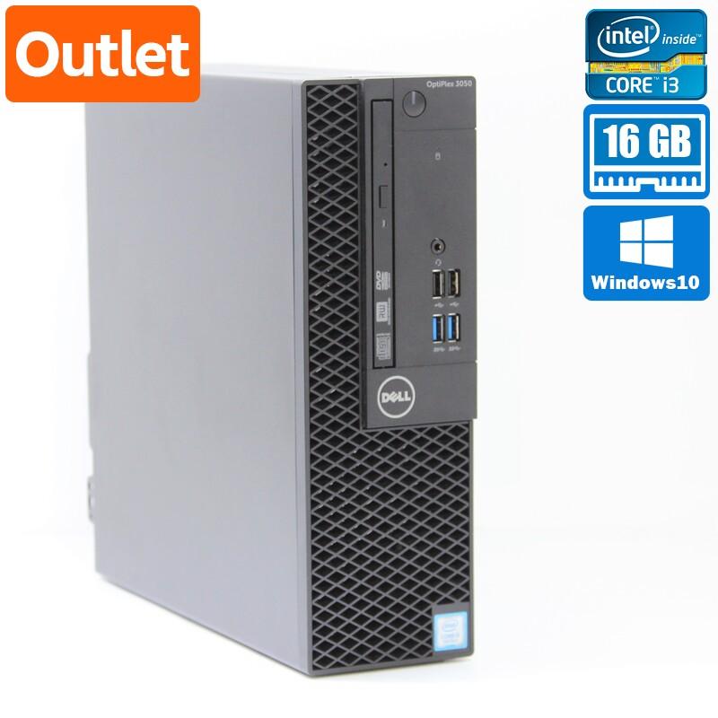 【Outlet】Dell OptiPlex 3050 SFF Windows 10 Pro(64bit) Core i3 7100 (3.9GHz/DualCore/3MB) メモリ 4GB 500GB HDD