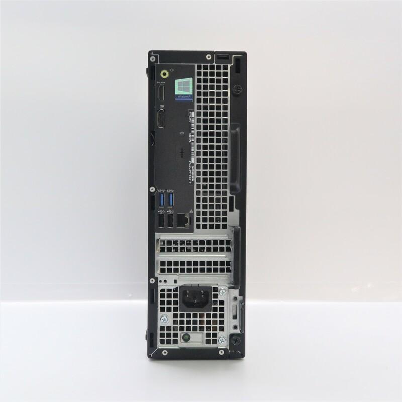 【Outlet】Dell OptiPlex 3050 Windows 10 Pro(64bit) Celeron G@ G3930 (2.9GHz/DualCore/2MB) メモリ 4GB 128GB SSD