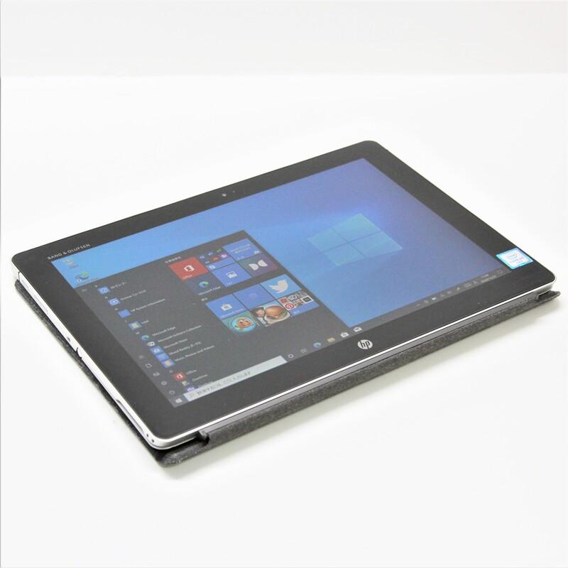 【良品】 HP Elite x2 1012 G1 Windows10 Pro(64bit) Core m5 6Y54 (1.1GHz/DualCore/4MB) メモリ 8GB (4GB×2) 256GB SSD 12インチ
