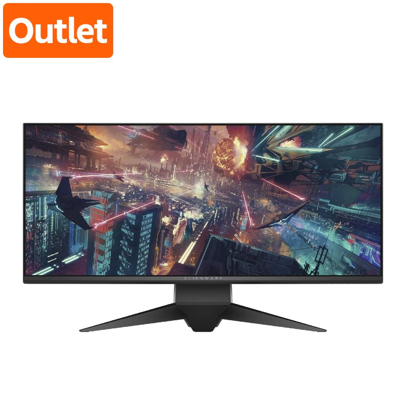 【Outlet】Dell Alienware AW3418DW ゲーミングモニター 34インチWide