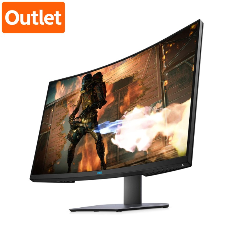【Outlet】Dell S3220DGF ゲーミングモニター 32インチWide
