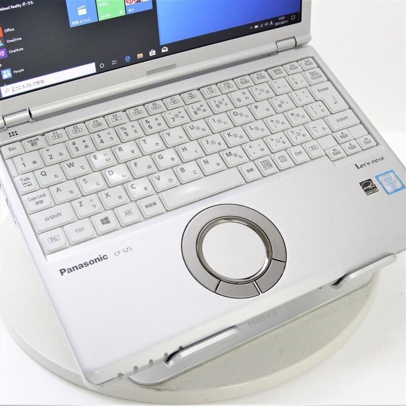 【並品】Panasonic Let's note CF-SZ5ADQMS Windows 10 Pro(64bit) Core i5 6300U (2.4GHz/DualCore/3MB) メモリ 8GB(4GB×2) 256GB SSD 12.1インチ