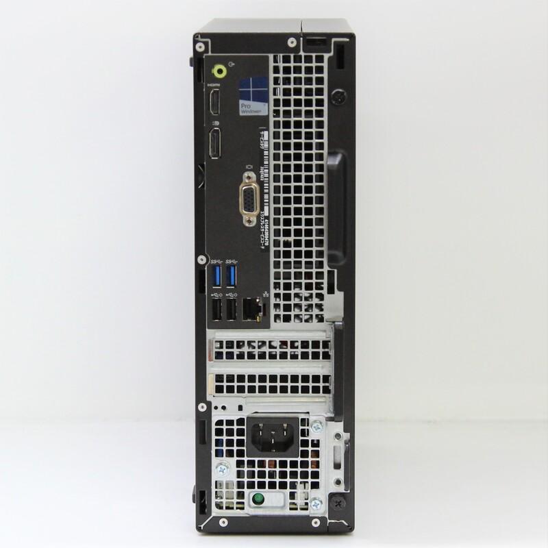 【Outlet】Dell OptiPlex 3050 SFF Windows 10 Pro(64bit) Celeron G@ G3900 (2.8GHz/DualCore/2MB) メモリ 4GB 256GB SSD