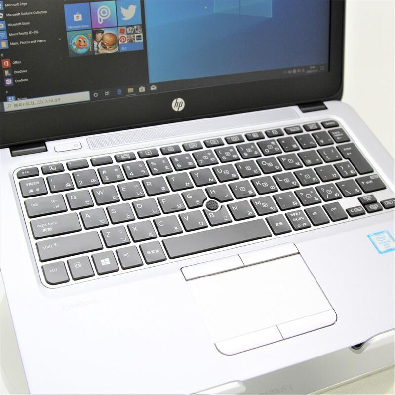 【並品】HP EliteBook 820 G3 Windows10 Pro(64bit) Core i5 6200U (2.3GHz/DualCore/3MB) メモリ 8GB (4GB×2) 128GB SSD 12.5インチ
