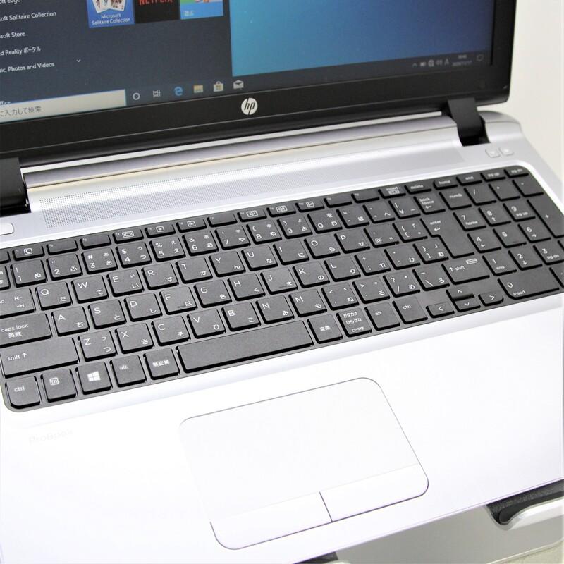 【良品】HP ProBook 450 G3 Windows 10 Pro(64bit) Core i5 6200U (2.3GHz/DualCore/3MB) メモリ 8GB(4GB×2) 500GB HDD 15.6インチ