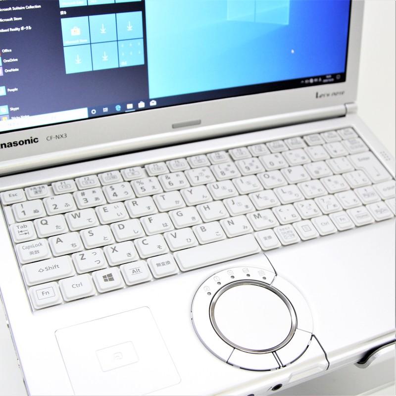 【良品】Panasonic Let's note CF-NX3YD1CS Windows 10 Pro(64bit) Mobile Core i5 4200U (1.6GHz/DualCore/3MB) メモリ 4GB 320GB HDD 12.1インチ