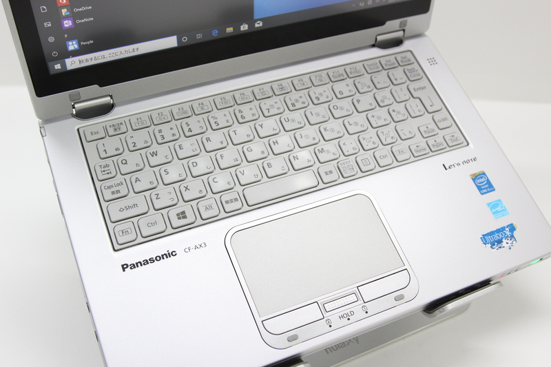 【並品】Panasonic Let's note CF-AX3EDCCS Windows 10 Pro(64bit) Mobile Core i5 4300U (1.9GHz/DualCore/3MB) メモリ 4GB (2GB×2) 128GB SSD 11.6インチ