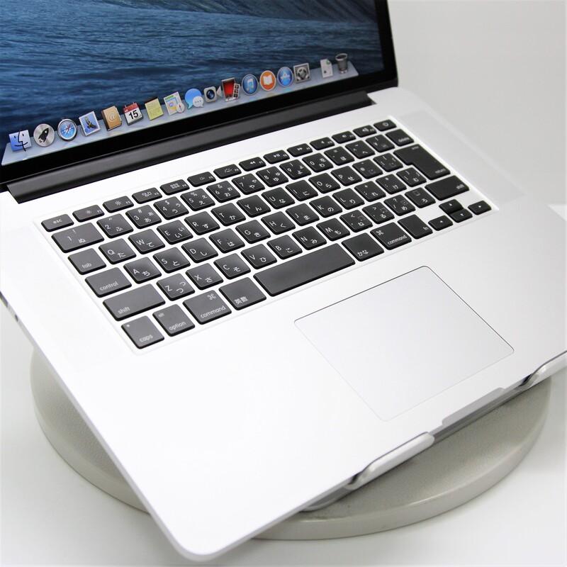 【美品】Apple MacBookPro11,3(Mid 2014) macOS Catalina 10.15.3 Mobile Core i7 4960HQ (2.6GHz/QuadCore/6MB)  メモリ16GB 500GB SSD 15.4インチ
