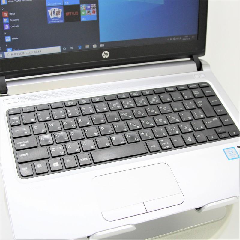 【美品】 HP ProBook 430 G3 Windows 10(64bit) Core i5 6200U (2.3GHz/DualCore/3MB) メモリ 4GB 500GB HDD 13.3インチ