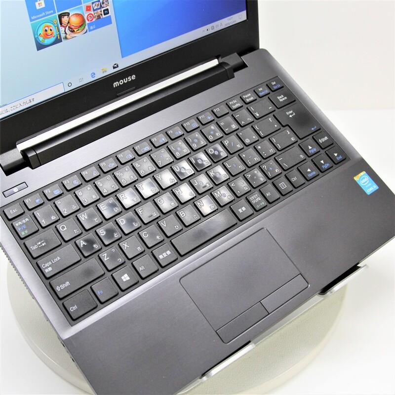 【並品】MouseComputer W331AU Windows 10 Home  Mobile Core i5 5200U (2.2GHz/DualCore/3MB) メモリ 8GB 500GB HDD 13.3インチ