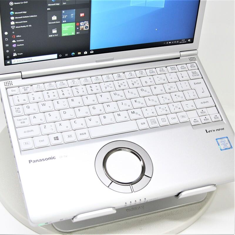 【並品】Panasonic Let's note CF-SV7RDAVS Windows 10 Pro(64bit) Intel(R) Core(TM) i5-8350U CPU @ 1.70GHz メモリ 8GB (4GB×2) 256GB SSD 12.1インチ