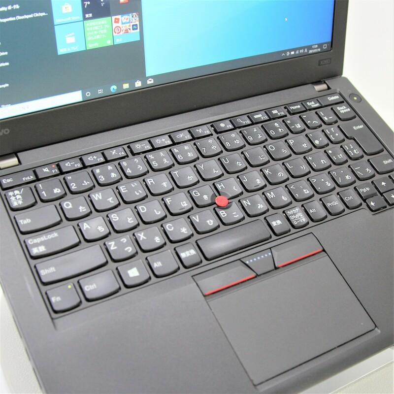 【並品】Lenovo ThinkPad X260 20F5A0BBJP Windows 10 Pro(64bit) Core i7 6600U (2.6GHz/DualCore/4MB) メモリ 16GB 500GB HDD 12.5インチ