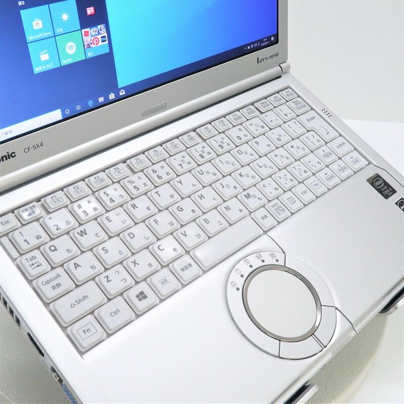 【美品】Panasonic Let's note CF-SX4EDHCS  Windows 10 Pro(64bit) Mobile Core i5 5300U (2.3GHz/DualCore/3MB) メモリ 8GB(4GB×2) 128GB SSD 12.1インチ