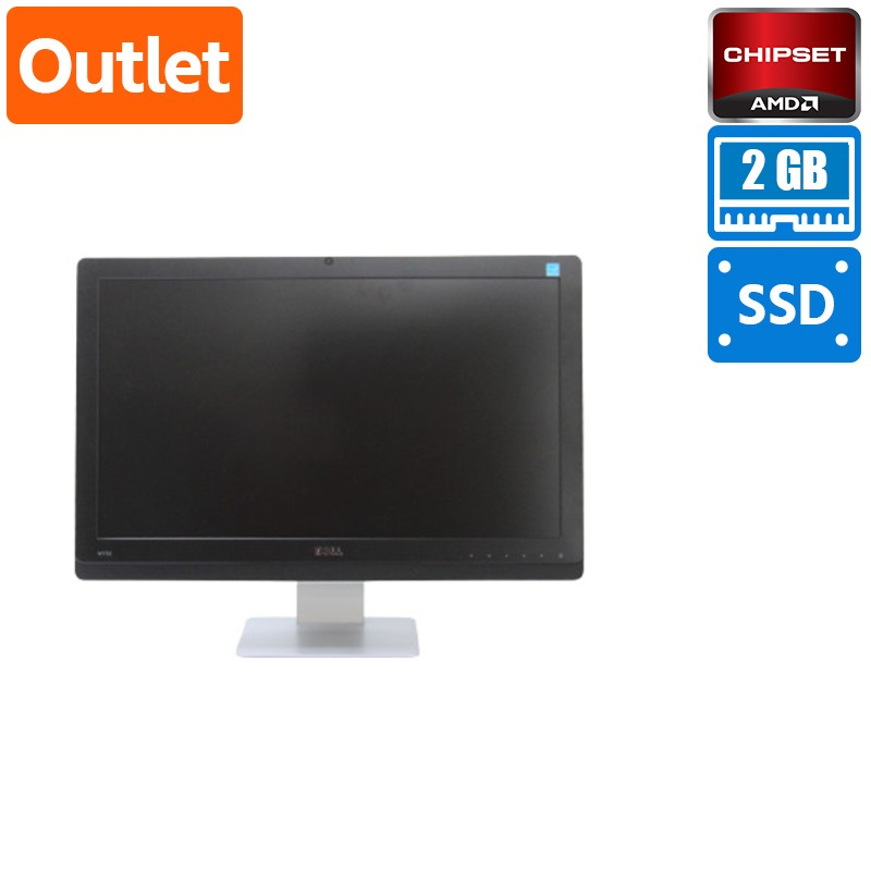 【Outlet】Dell Wyse Thin Client AIO 5212 一体型 Mobile G T48E (1.4GHz/DualCore) メモリ 2GB 8GB SSD 21.5インチ