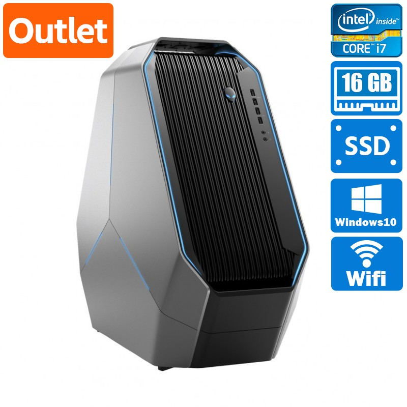 【Outlet】ゲーミングデスクトップDell Alienware Area-51 R2 Windows 10 Home(64bit) Core i7 5930K (3.5GHz/HexaCore/15MB) メモリ 16GB (4GB×4) 1024GB SSD+4000GB HDD