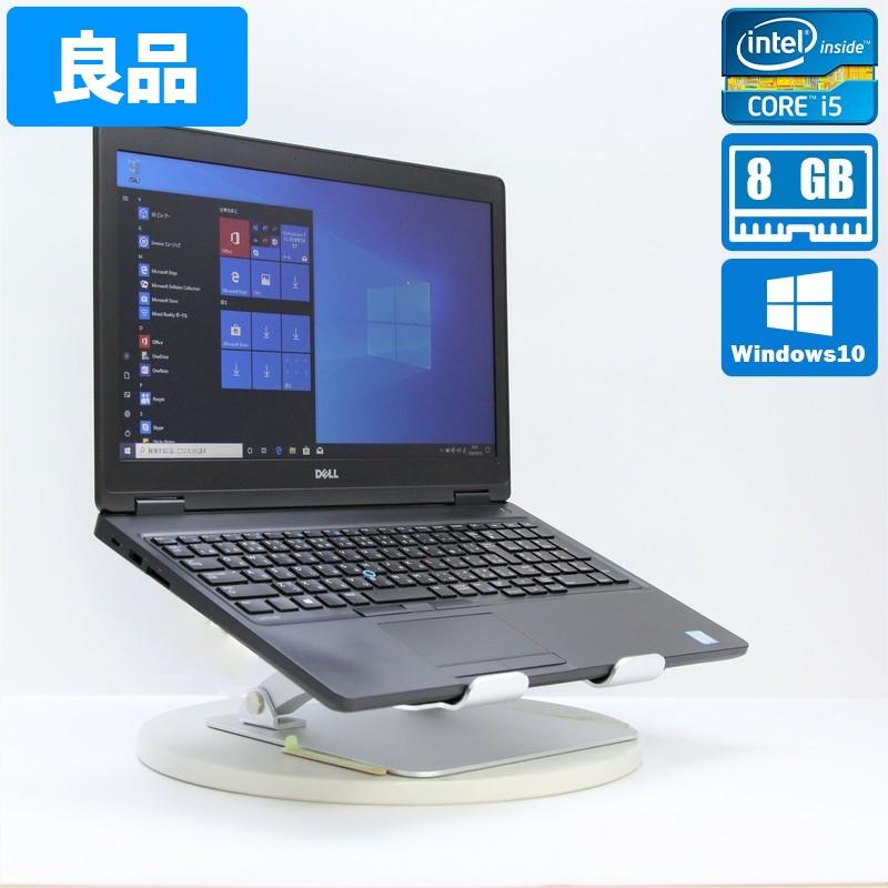 【良品】Dell Latitude 5580 Windows 10 Pro(64bit) Core i5 6300U (2.4GHz/DualCore/3MB) メモリ 8GB (4GB×2) 500GB HDD 15.6インチ