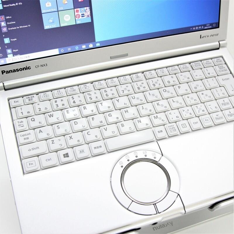 【良品】Panasonic Let's note CF-NX3GDGCS Windows 10 Pro(64bit) Mobile Core i5 4300U (1.9GHz/DualCore/3MB) メモリ 4GB 320GB 12.1インチ