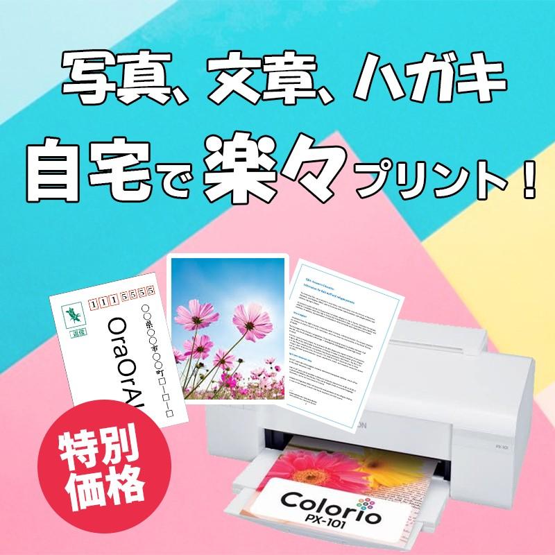 【新品】インクジェットプリンター EPSON Colorio(カラリオ) PX-101