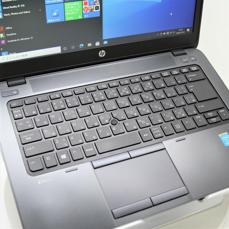 【並品】HP ZBook 14 G2 Windows 10 Pro(64bit) Mobile Core i7 5600U (2.6GHz/DualCore/4MB) メモリ 8GB 256GB SSD + 500GB HDD14インチ