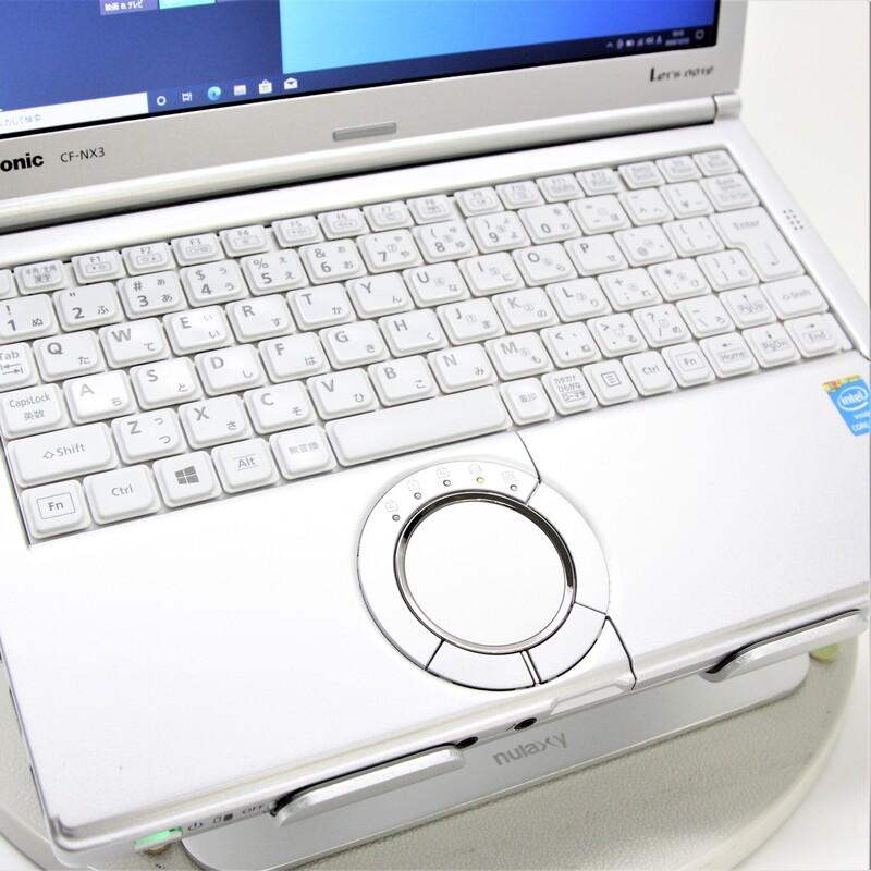 【並品】Panasonic Let's note CF-NX3GDGCS Windows 10 Pro(64bit) Mobile Core i5 4300U (1.9GHz/DualCore/3MB) メモリ 4GB 320GB 12.1インチ