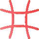 トリベット 「tetra」