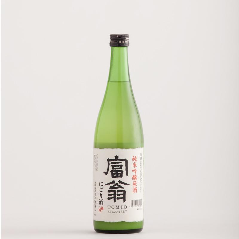 富翁 純米吟醸原酒 にごり酒 720ml