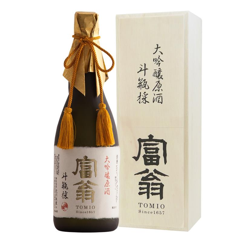 富翁 大吟醸原酒 斗瓶採(とびんとり)720ml