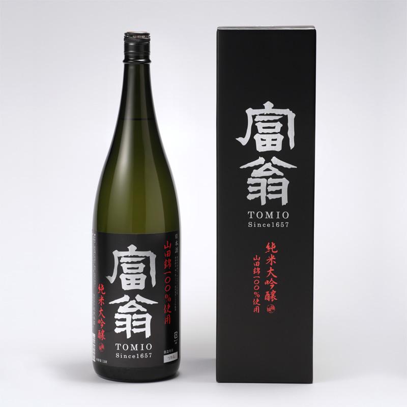富翁 純米大吟醸 山田錦49 (ひとつ火) 1800ml